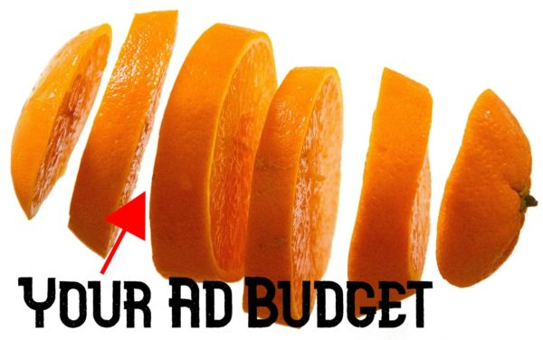 Ad Budget Divided