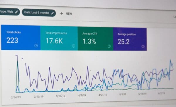 home business google search console data