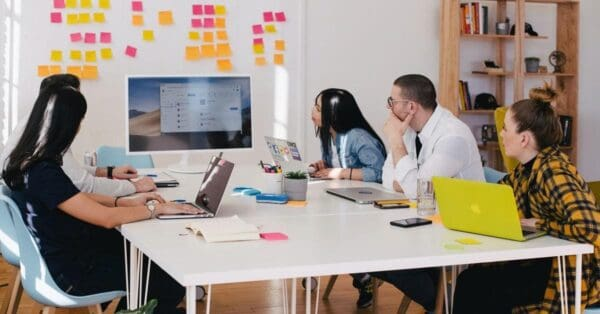 marketing strategy meeting