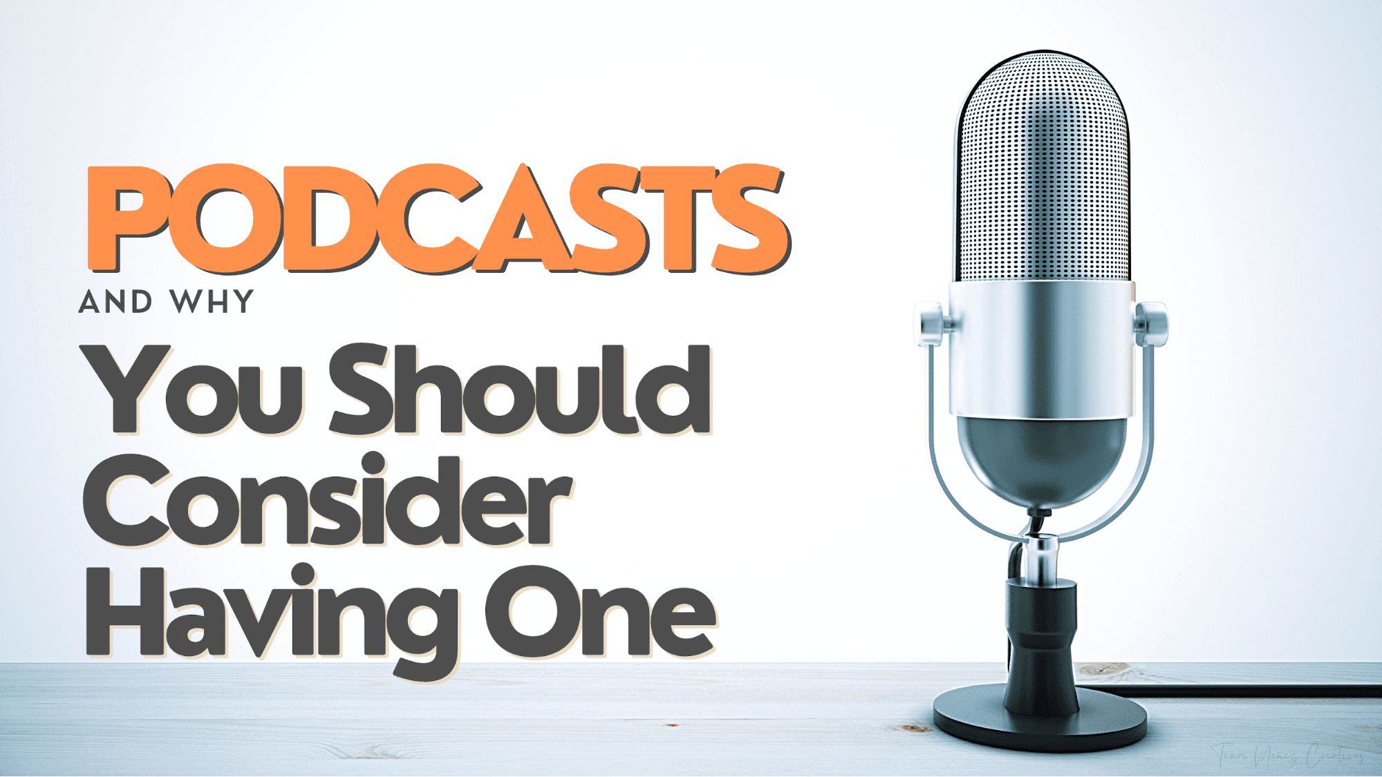 Podcast Marketing and why you should start one