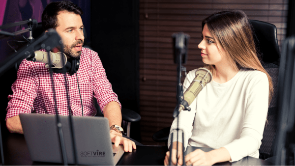 Podcasts enable collaboration with industry influencers